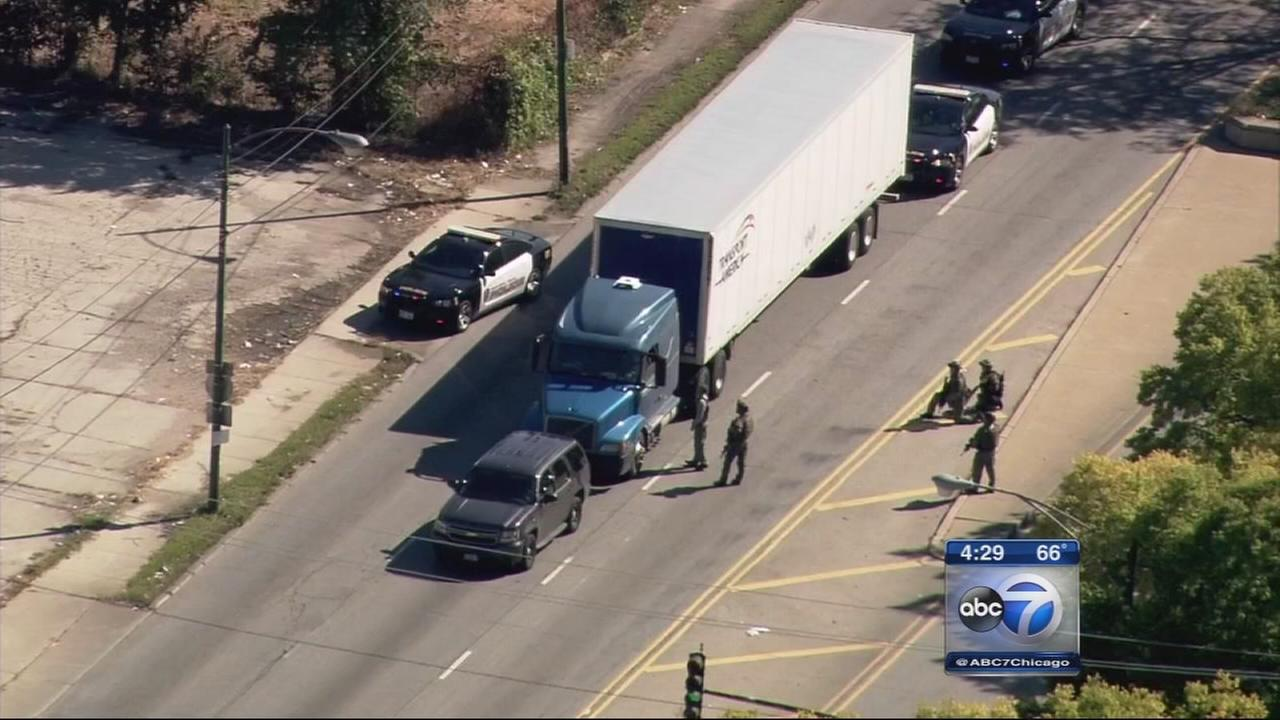 Hostage situation ends on Cicero near Midway