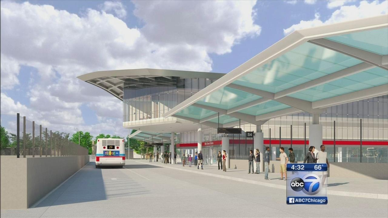 Work starts on 95th Street station