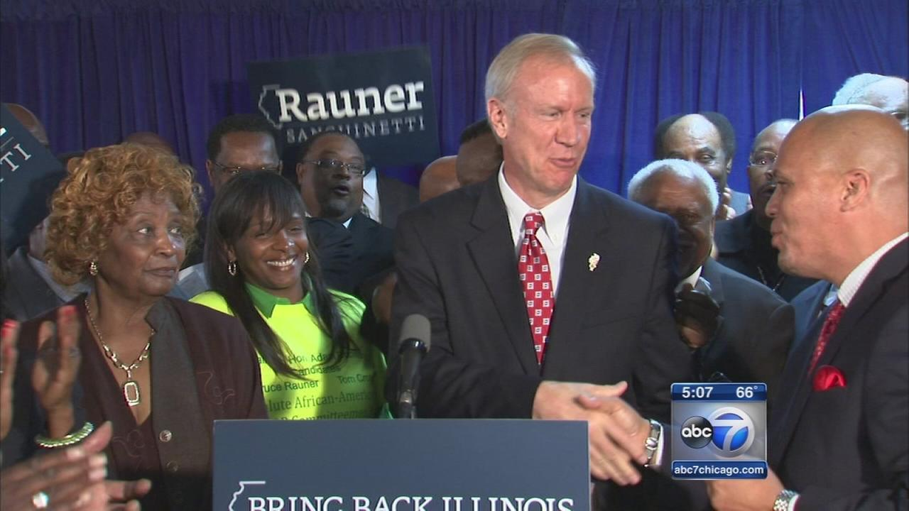 Rauner picks up support from black ministers