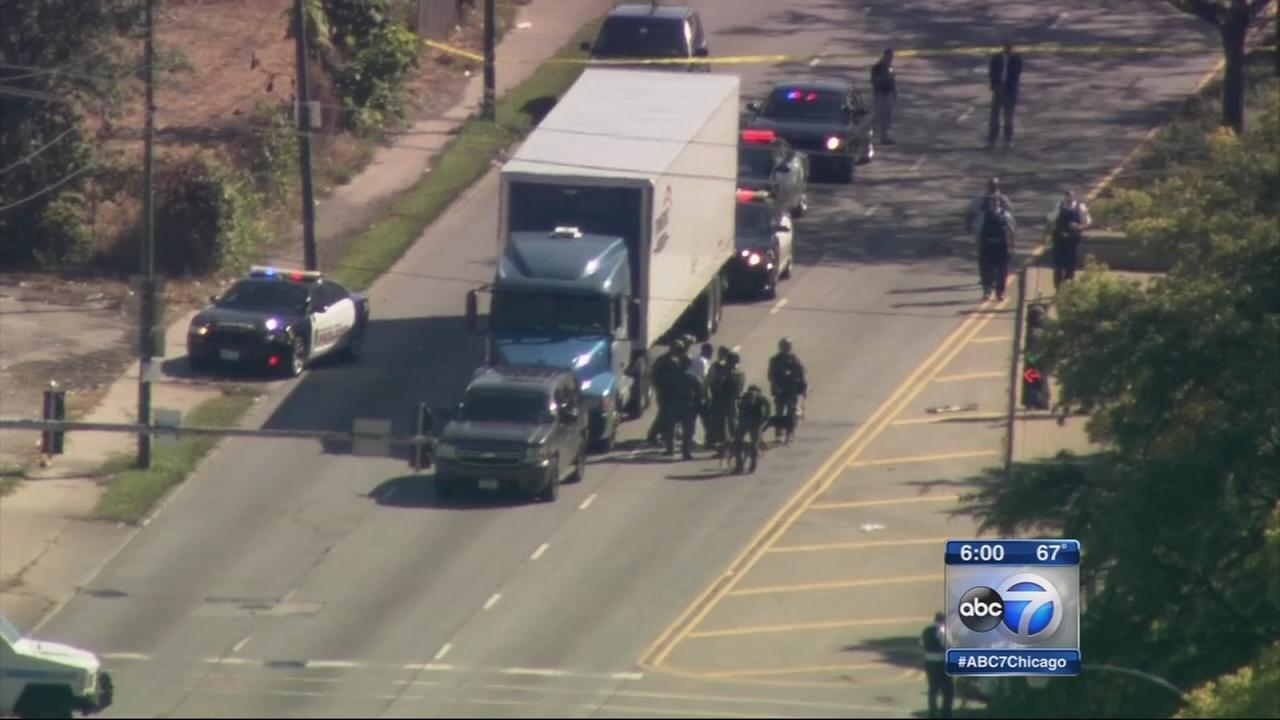 Hostage situation near Midway ends