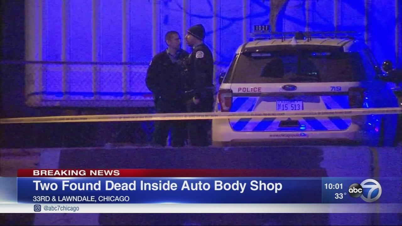 2 found dead in Little Village auto body shop