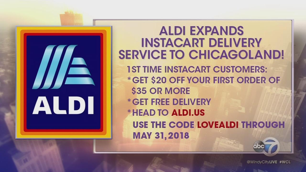 ALDI brings Instacart to Chicago area