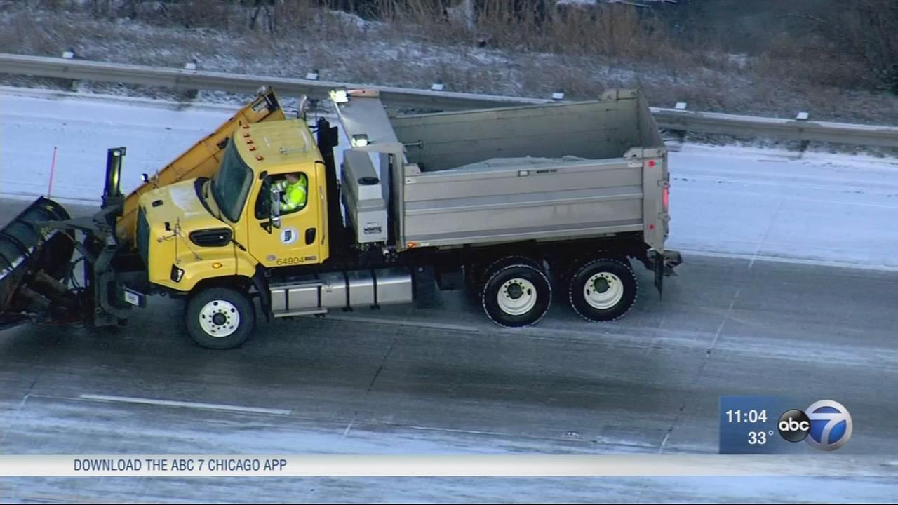 Icy conditions lead to crashes, spinouts on I-65 in NW Indiana