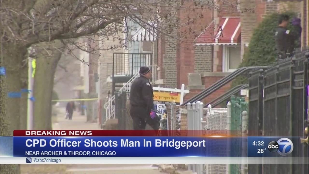 Chicago police shoot man in Bridgeport