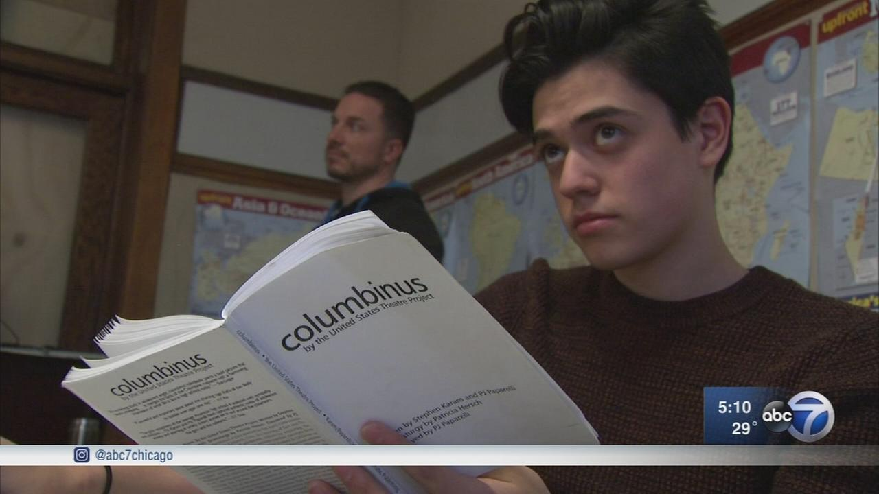 Chicago high school students stage play based on Columbine massacre