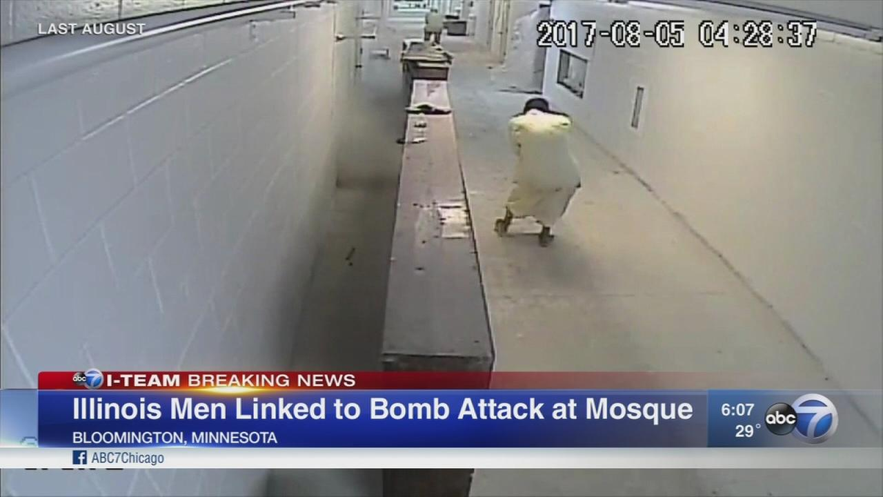 Illinois trio linked to bombing cases at mosque and womens clinic