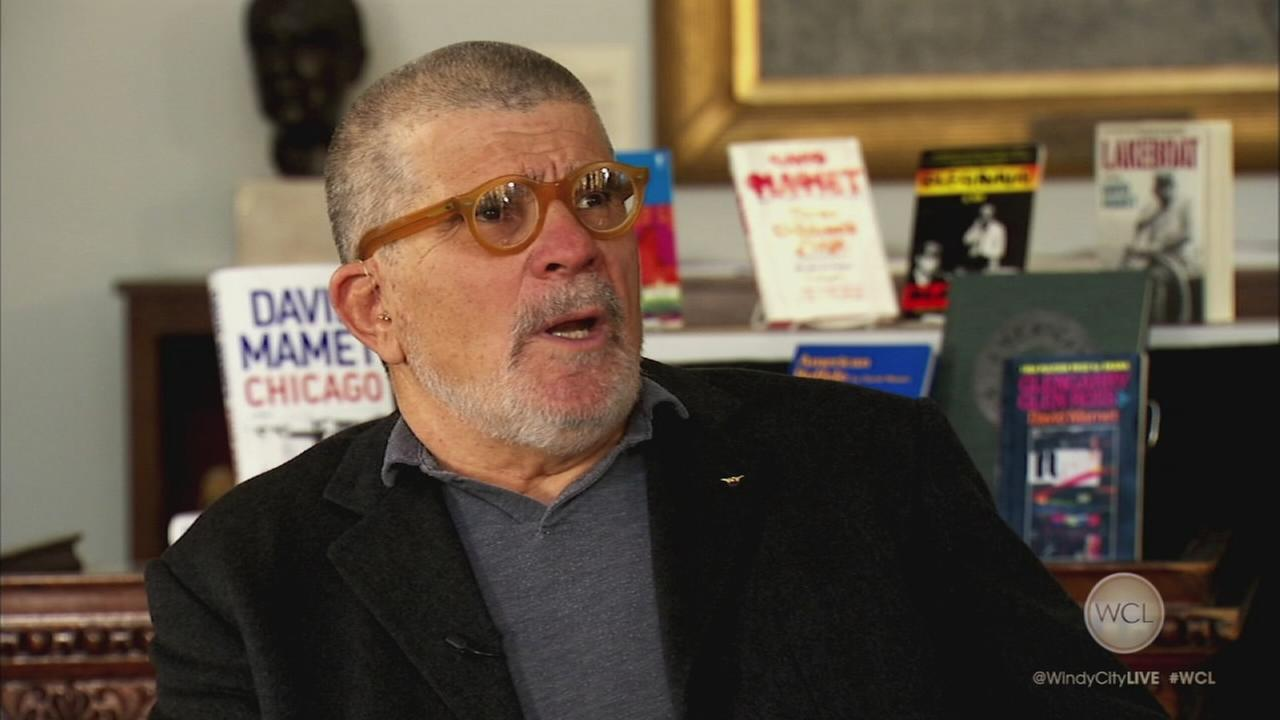 Sit-down with David Mamet, Part 1