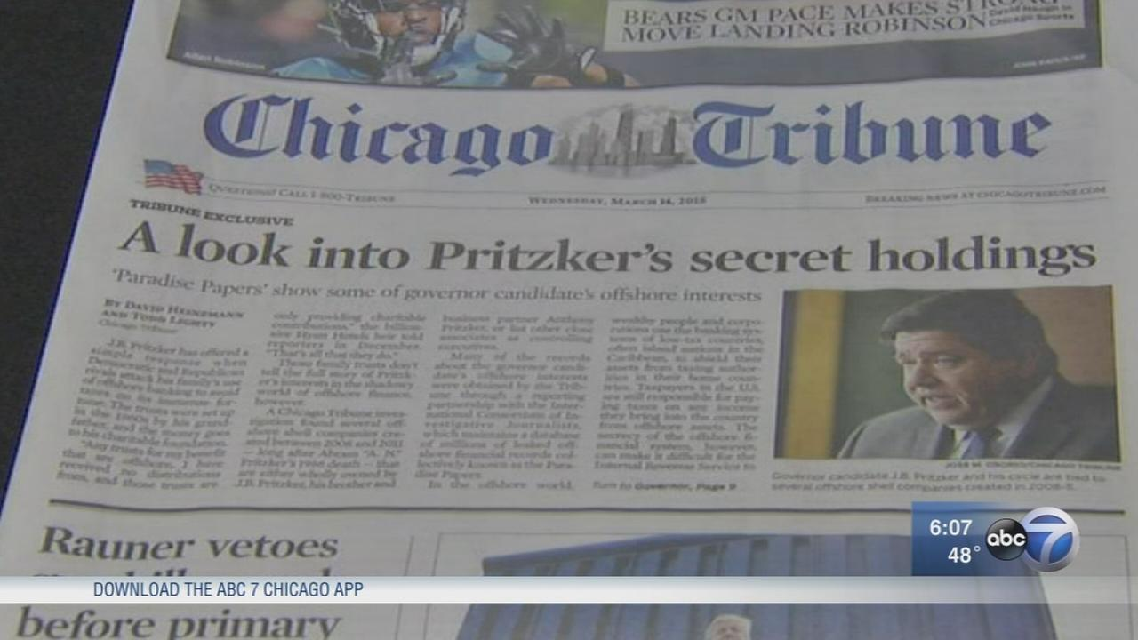 Report raises questions about Pritzker?s off-shore holdings