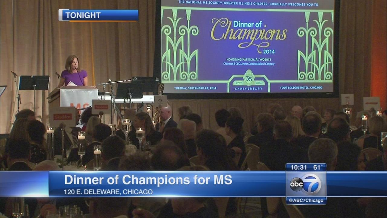 Dinner of Champions held to benefit MS