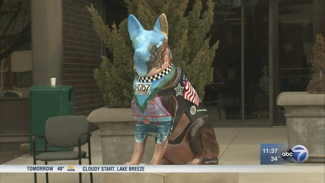 K9 memorial honors fallen CPD officer