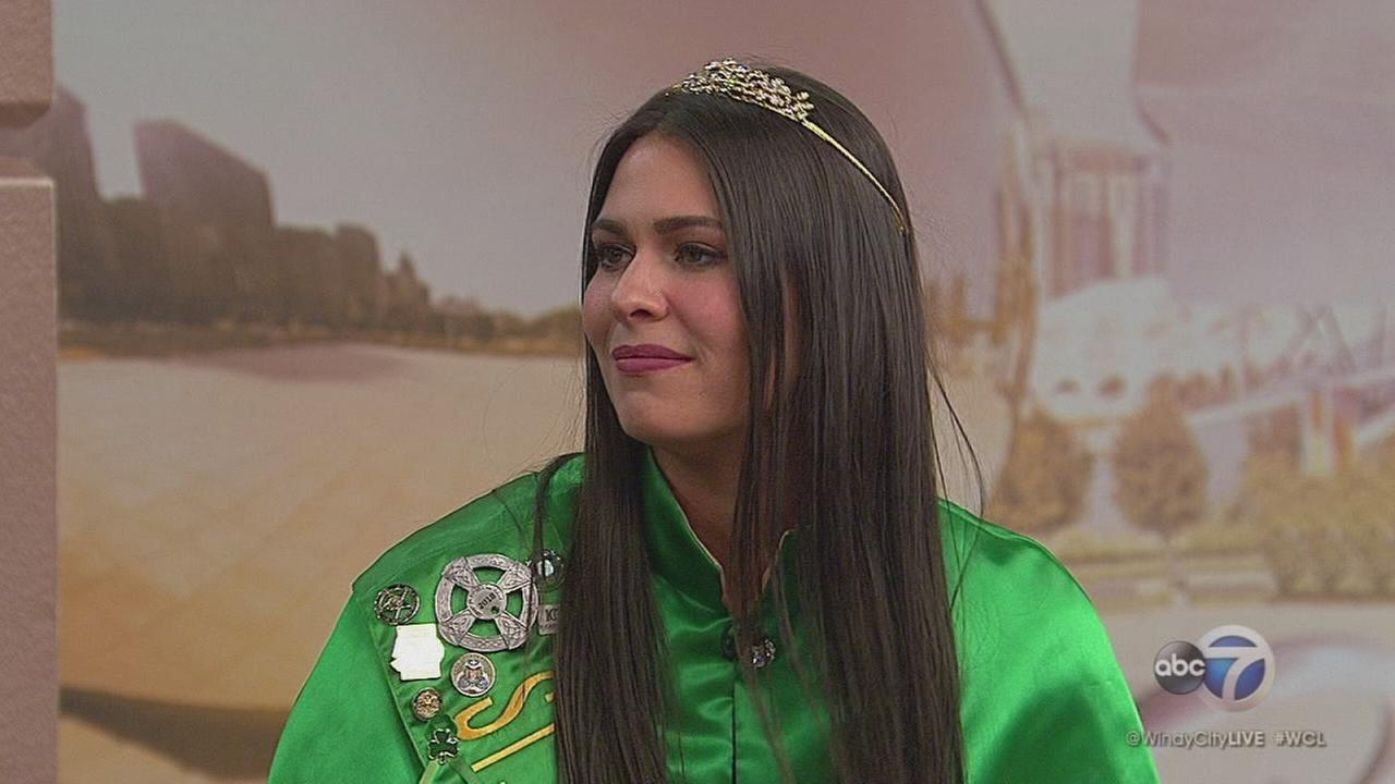 2017 Chicago St. Patricks Day Parade Queen Mary Kate Manion