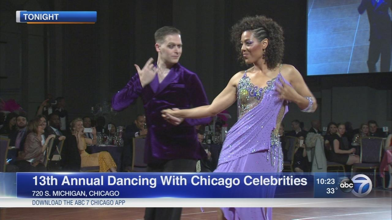ABC7s Karen Jordan competes in Dancing with Chicago Celebrities