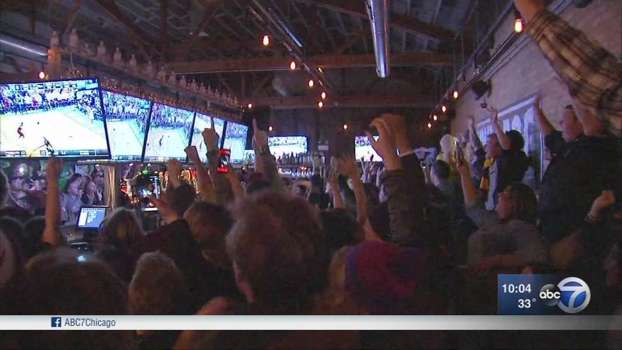 Loyola fans react to Game 2 win
