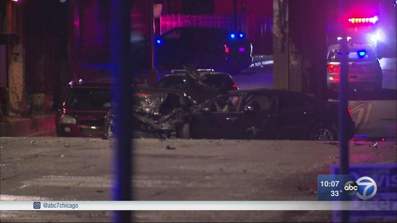 CPD car chase ends in crash