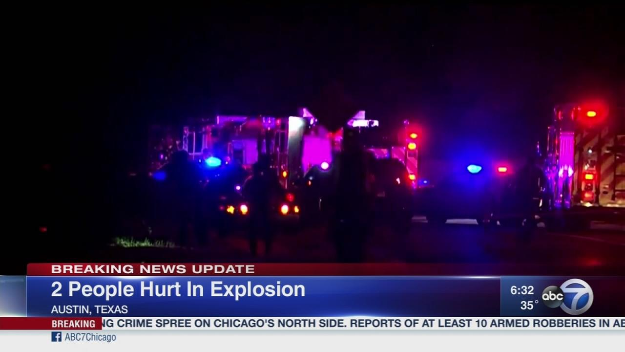 2 hurt in fourth Austin explosion