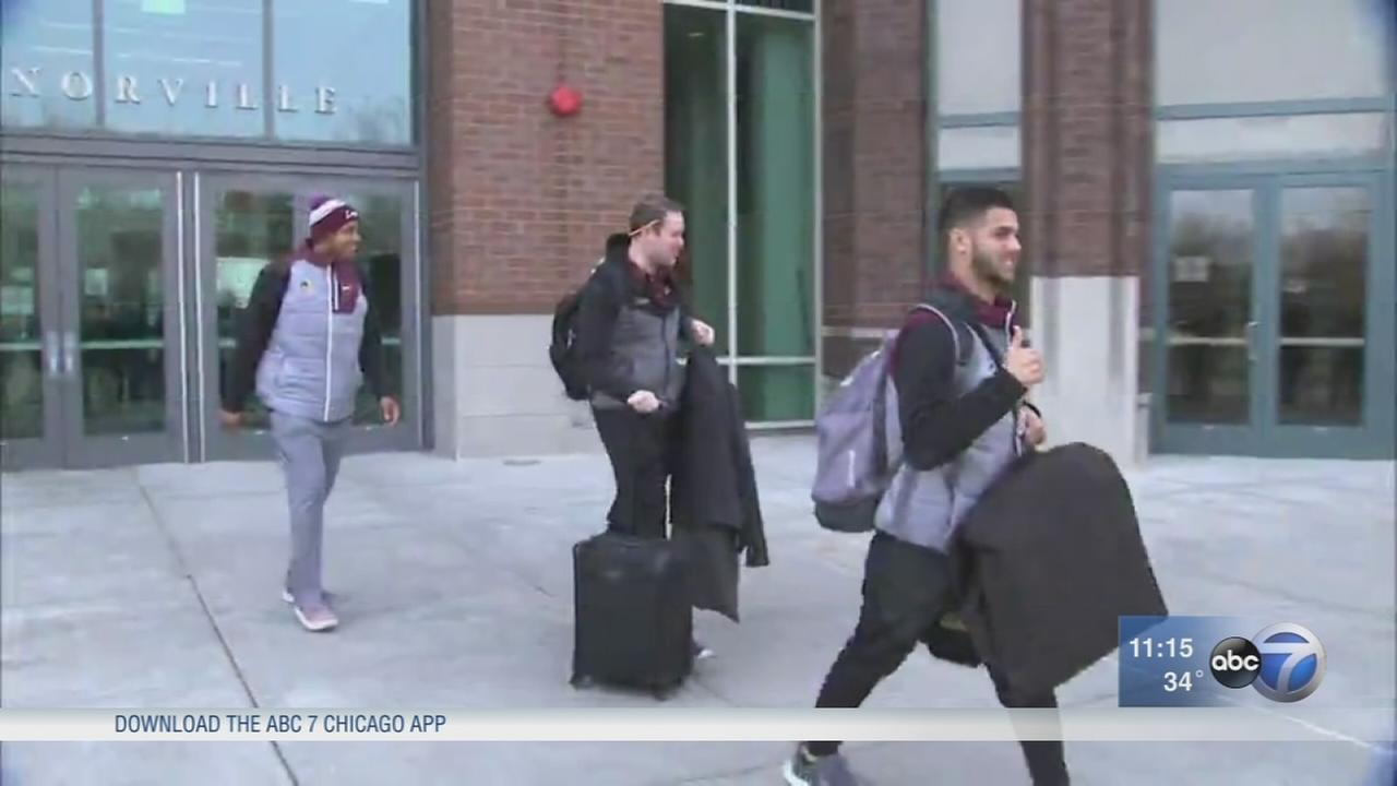 Loyola basketball team leaves for Atlanta ahead of Sweet 16 game