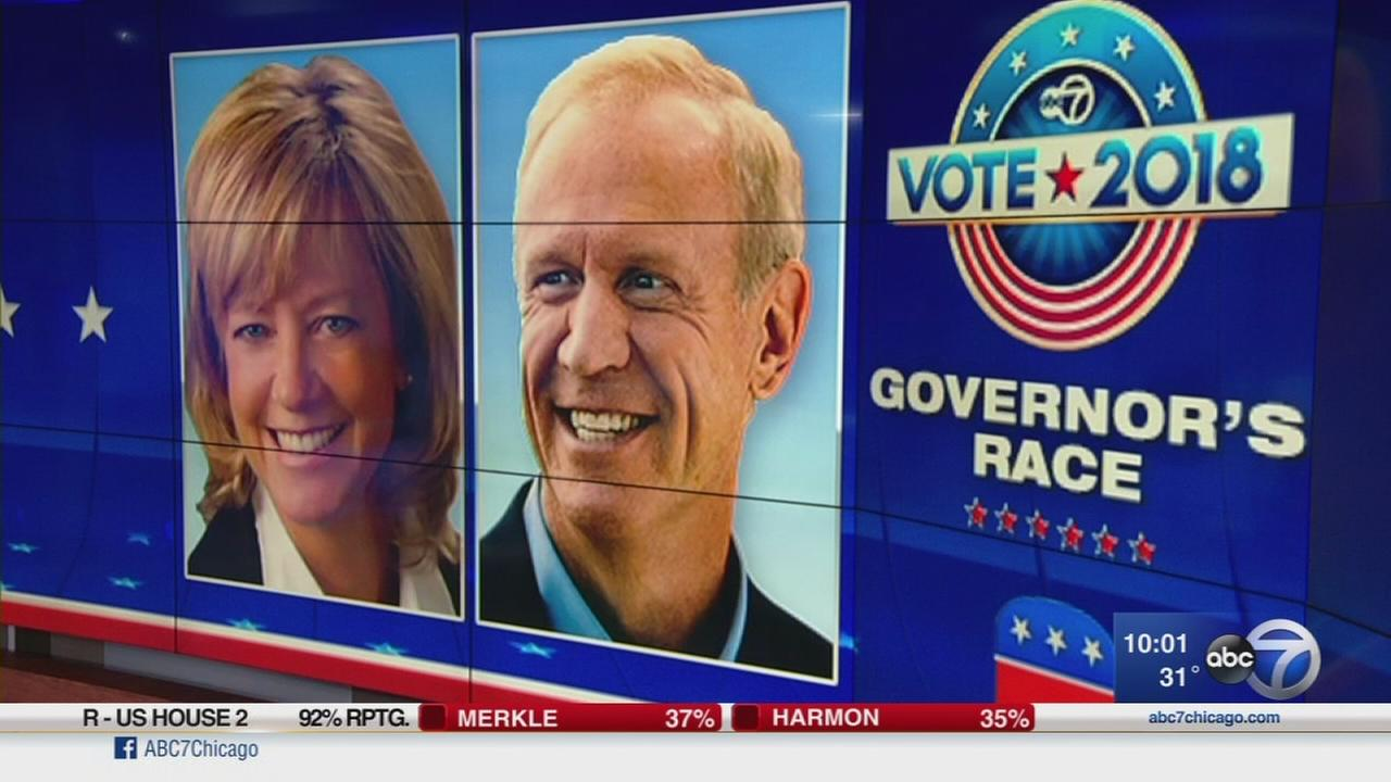Jeanne Ives-Bruce Rauner GOP race closer than expected