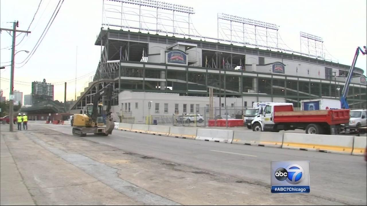 Cubs renovation begins