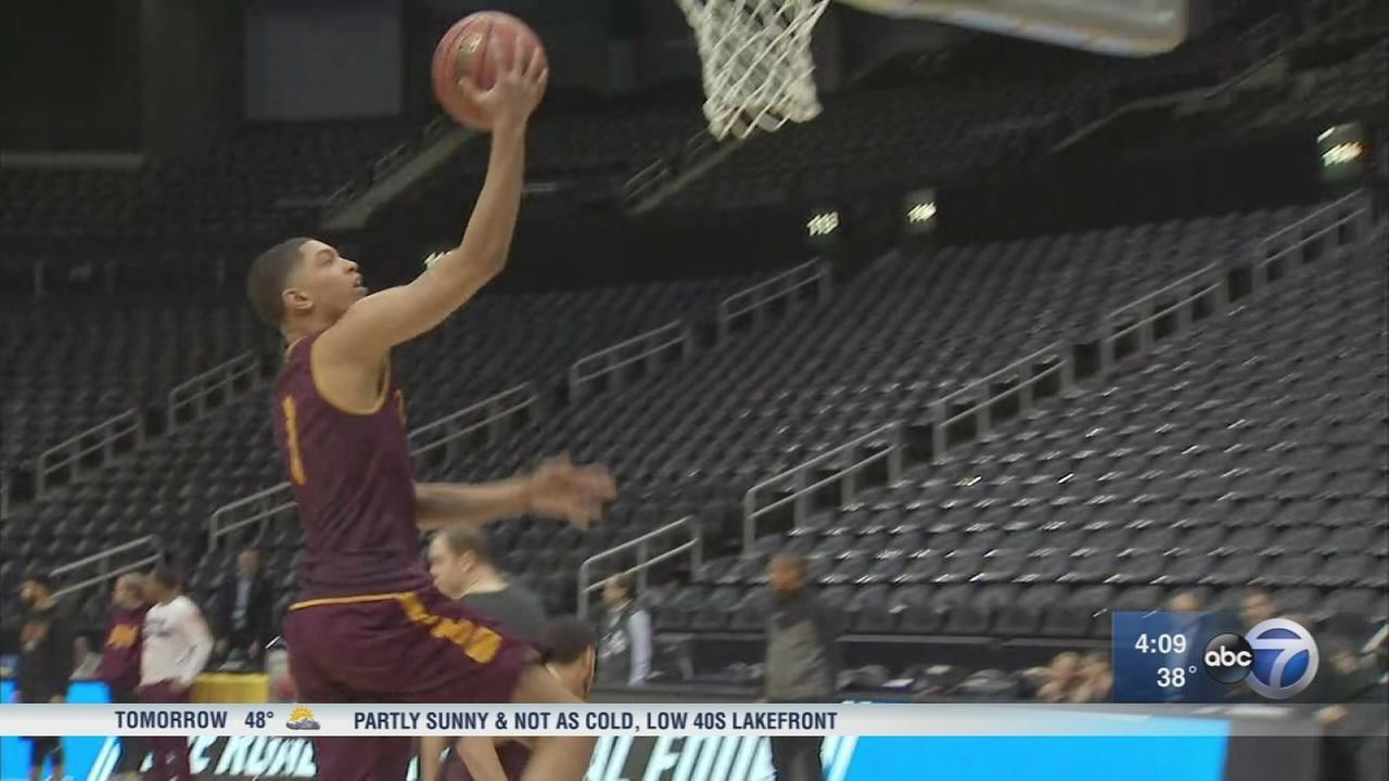March Madness: Loyola faces Nevada in bracket-busting Sweet 16 South