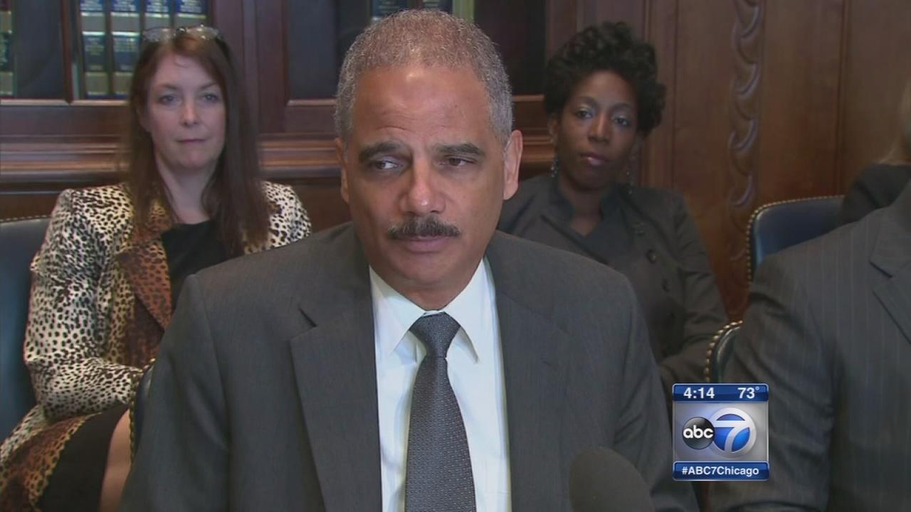 Attorney General Eric Holder steps down