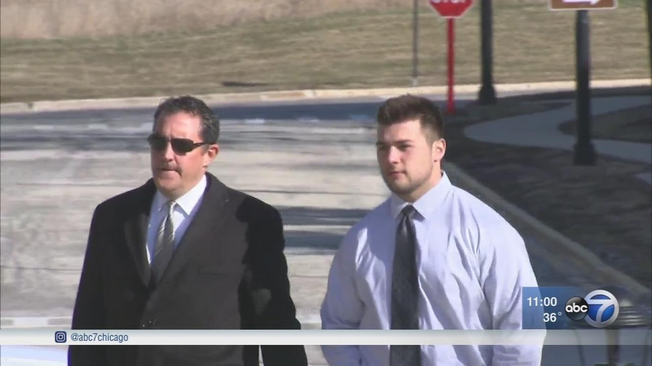 Wheaton College football player pleads guilty