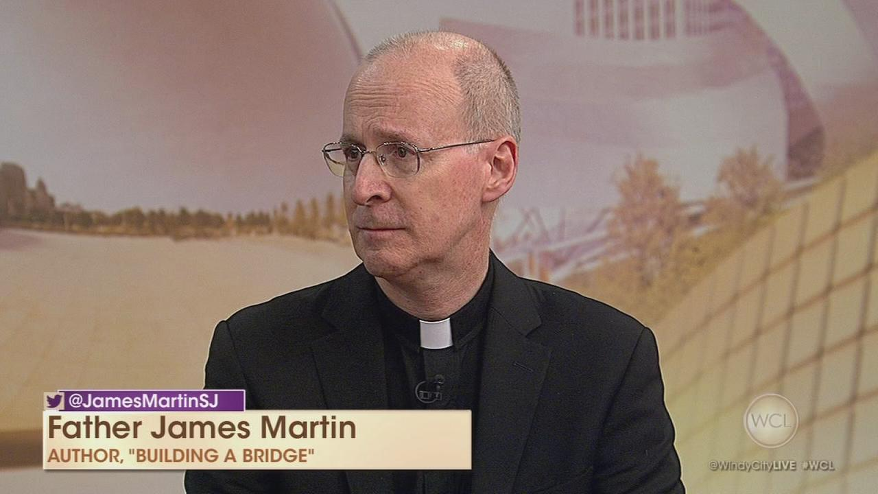 Jesuit priest, author discusses LGBT Catholics