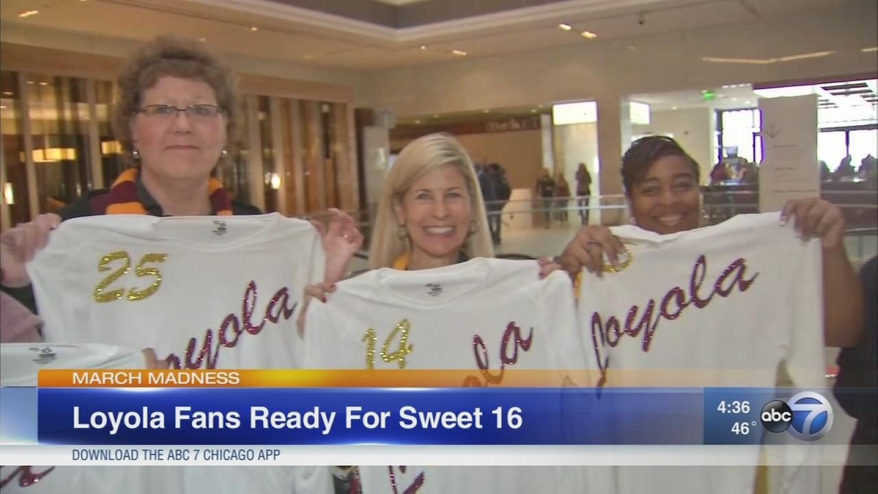 Loyola basketball fans ready for Thursday game