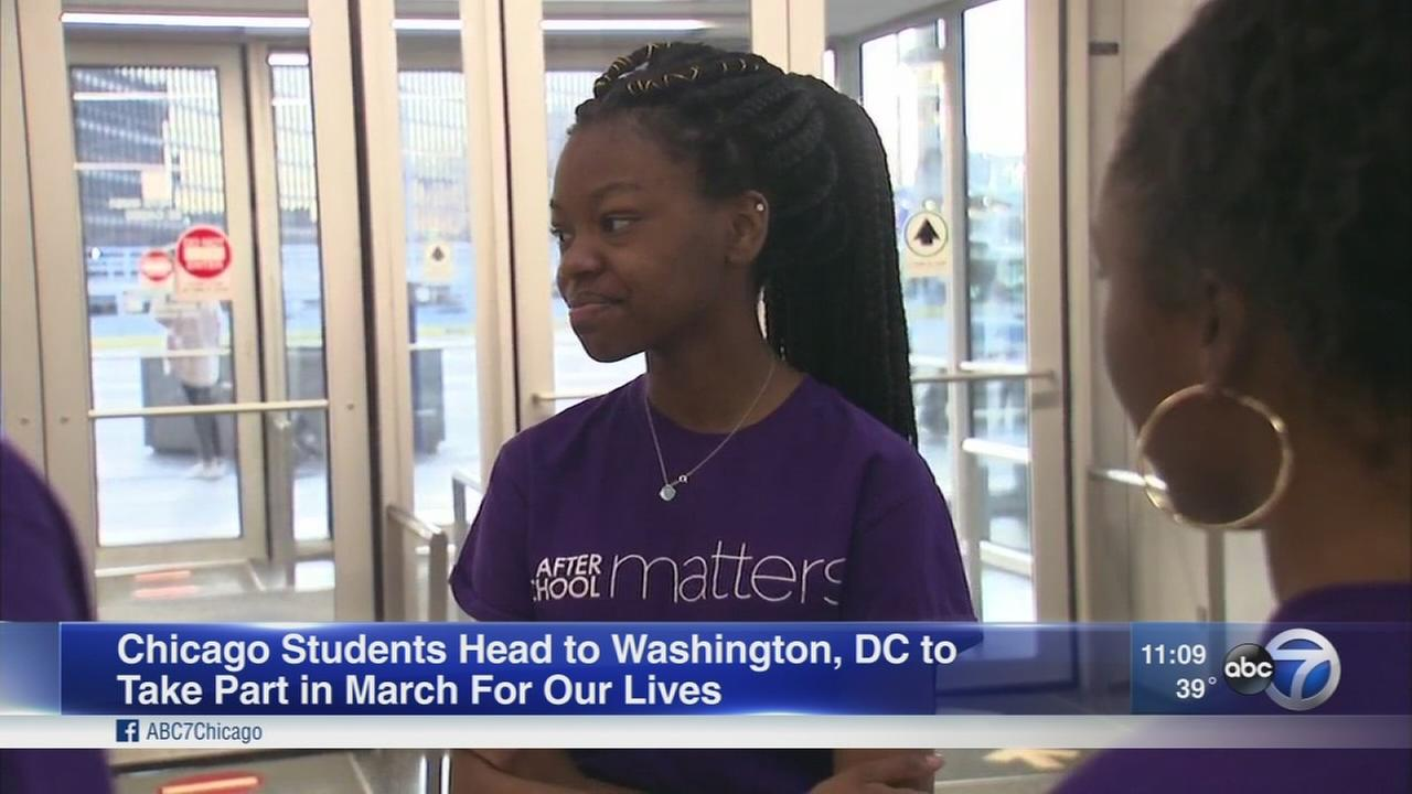 Chicago students head to D.C. for March for Our Lives rally