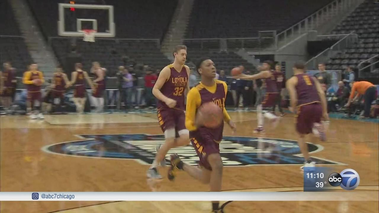Elite 8: Loyola basketball has fans sitting on the edge of their chairs