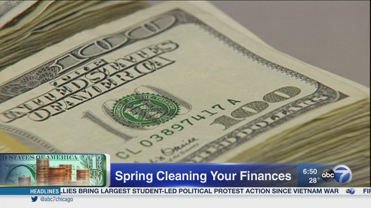 Spring cleaning for your finances