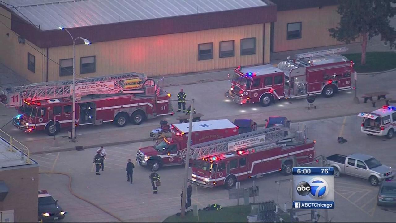 Man charged with starting fire at FAA facility in Aurora