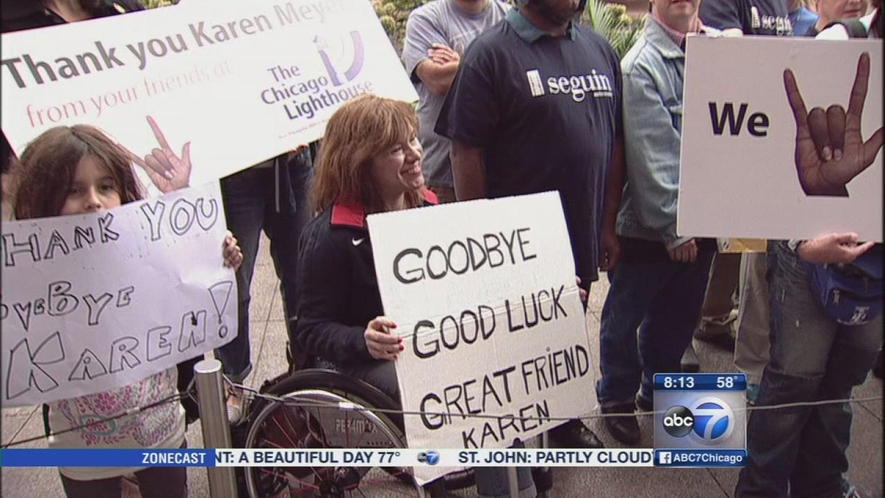Viewers say goodbye to Karen Meyer