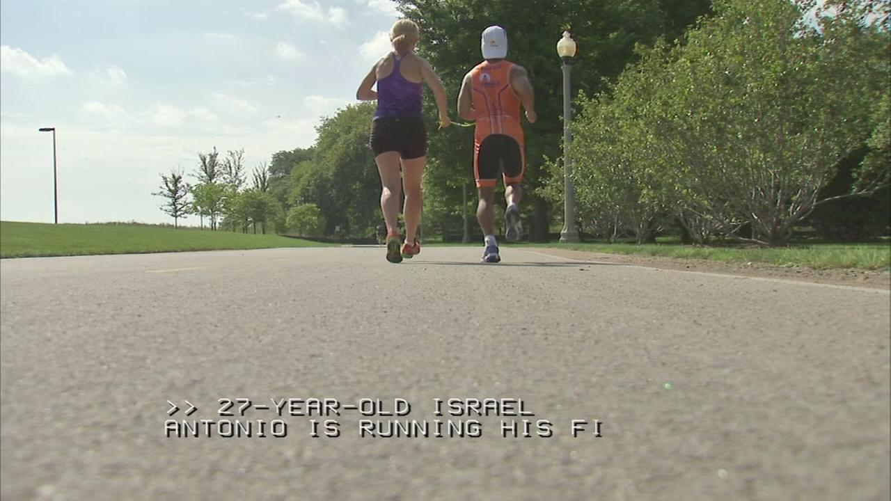 Runners prepare for Bank of American Chicago Marathon