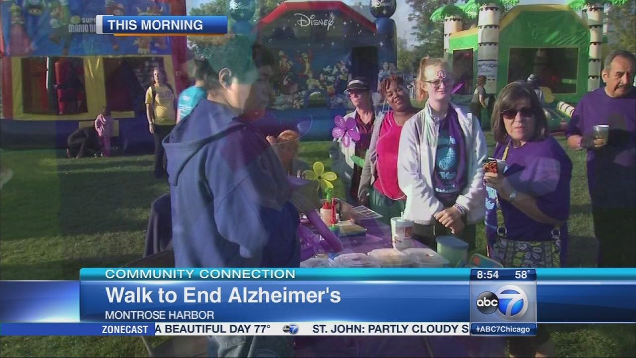 Chicago Walk to End Alzheimers kicks off at Montrose Harbor