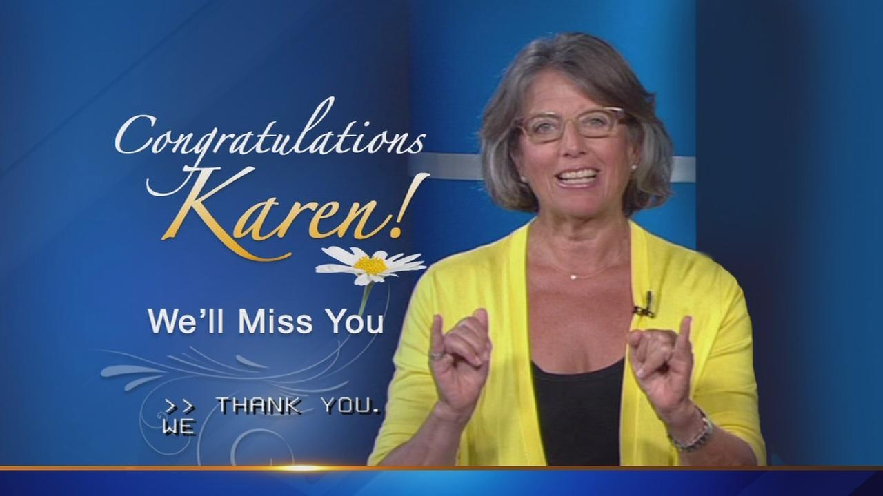 Celebrating the career of ABC7 reporter Karen Meyer