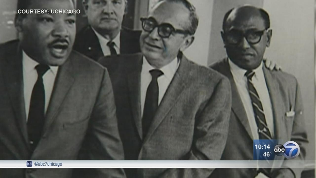 Activist, historian Timuel Black looks back at the legacy of MLK