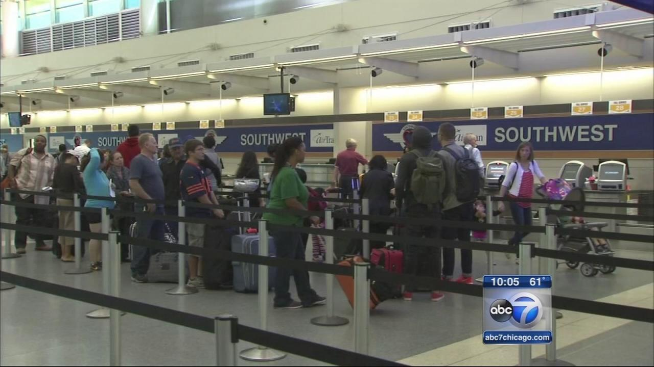 Cancellations, delays improve at OHare, MIdway