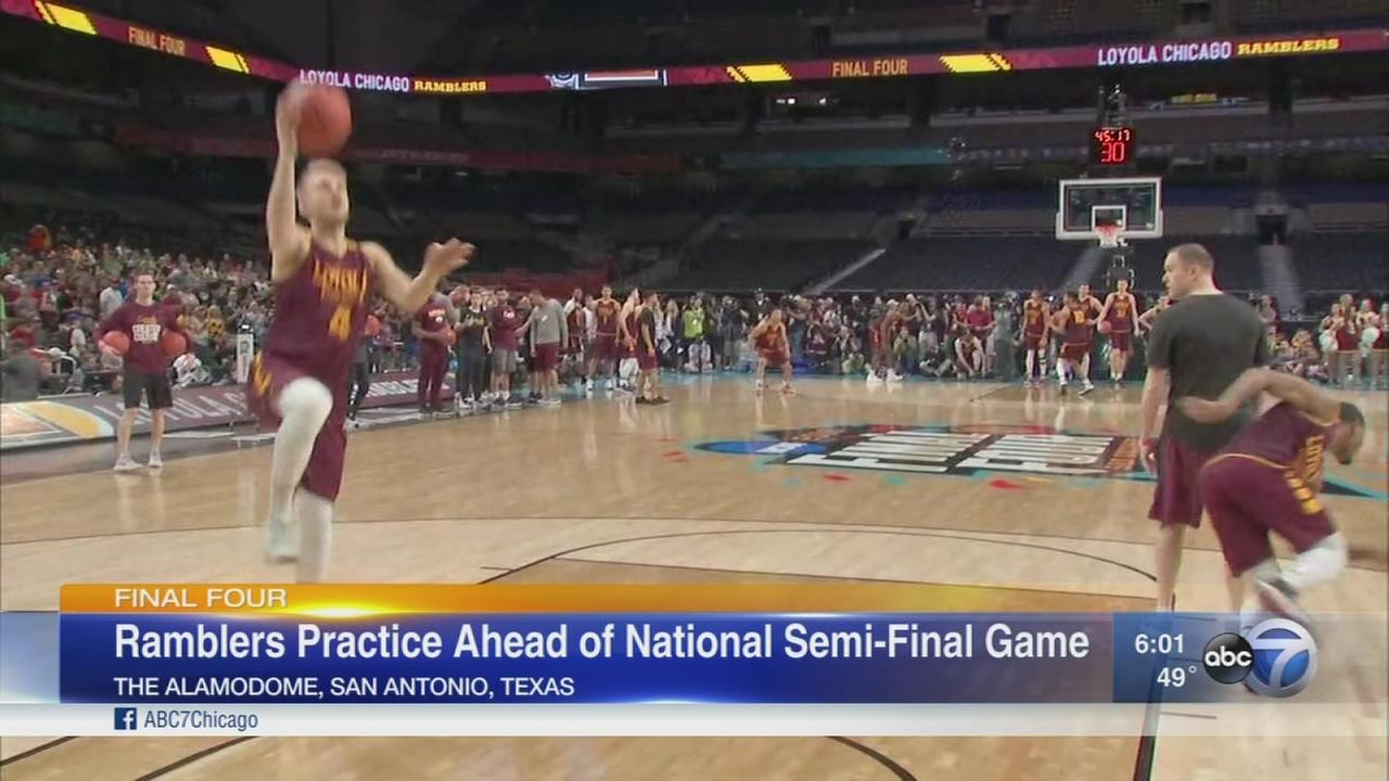 Most fun Ive had in my life: Sister Jean says as Loyola heads to Final Four