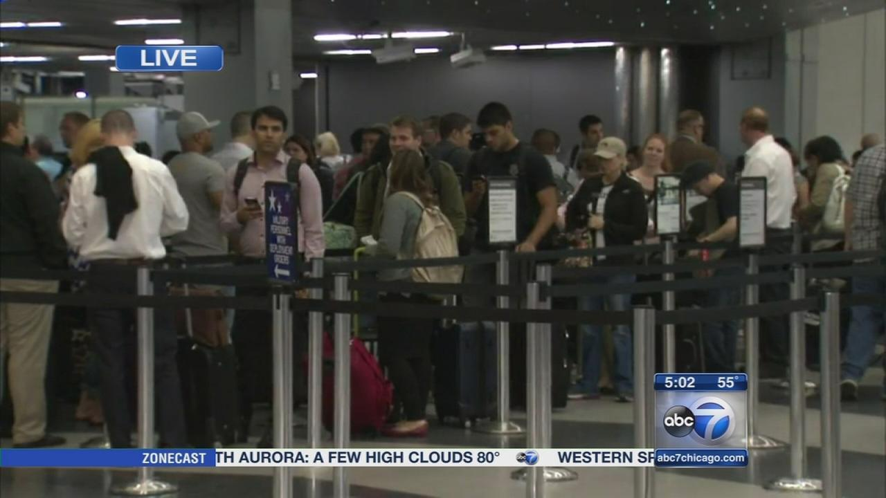 Flight delays, cancellations persist at OHare, Midway