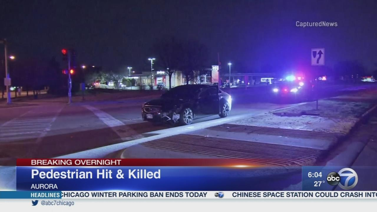 Pedestrian hit and killed in Aurora
