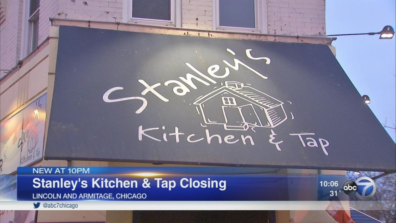 Stanleys Kitchen and Tap closes after 25 years