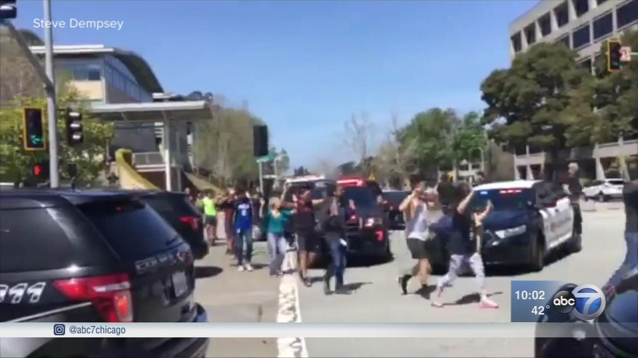 YouTube shooting at HQ injures 3, suspected female shooter IDd
