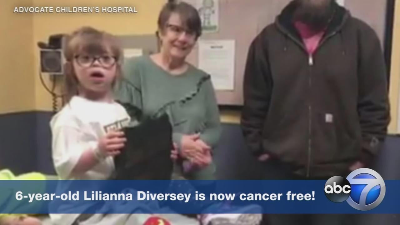 ADORABLE: 6-year-old celebrates last chemo with special song