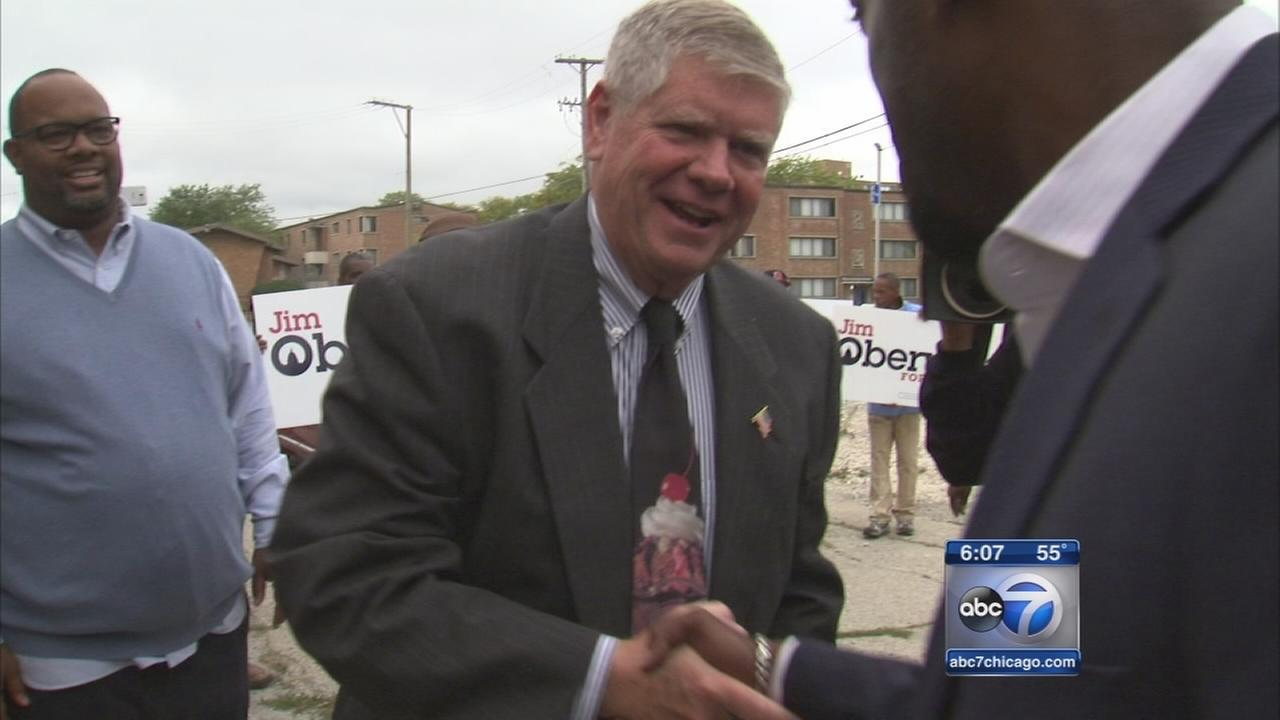 Republican Oberweis courting votes in African-American  community