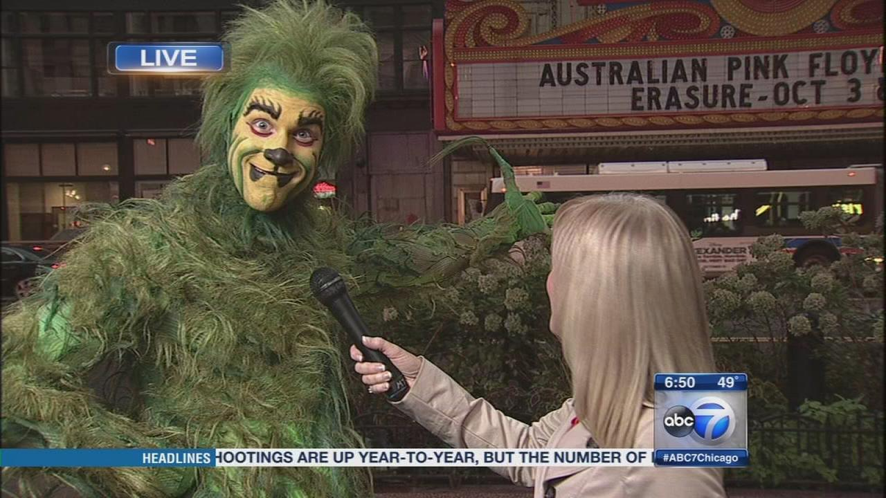 The Grinch is coming to the Chicago Theatre