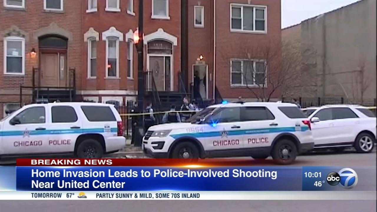 Police: Person shot by officer in Near West Side
