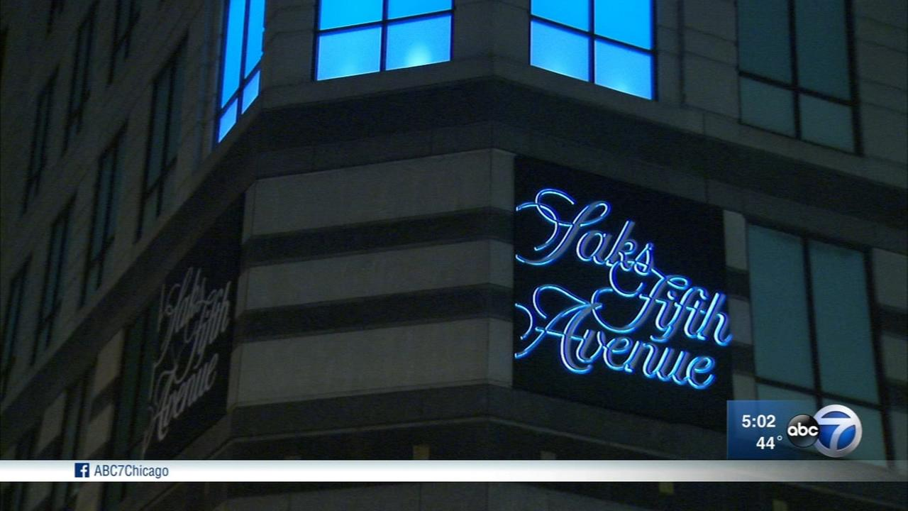 Robbery hits Magnificent Mile Saks Fifth Avenue location