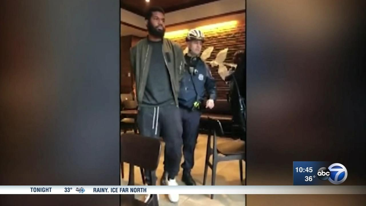 Men arrested for waiting in a Philadelphia starbucks