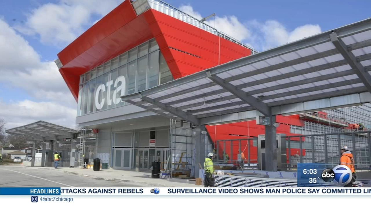 South terminal of CTA 95th Street station opens