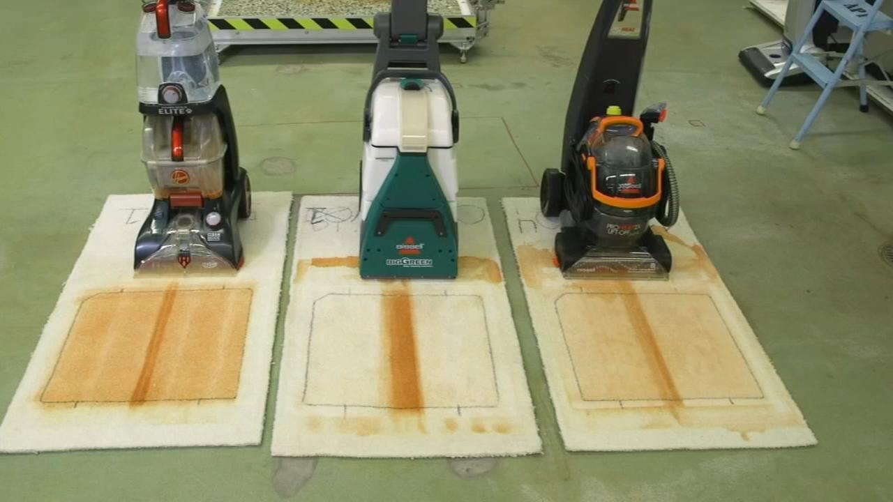 Consumer Reports: Carpet cleaner machines